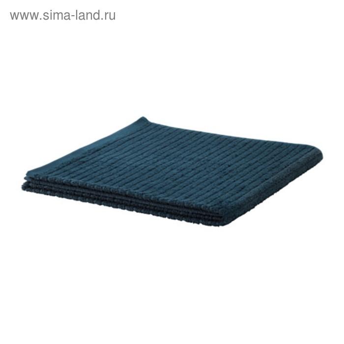 Полотенце махровое ВОГШЁН, размер 70х140 см, цвет тёмно-синий, 390 г/м2