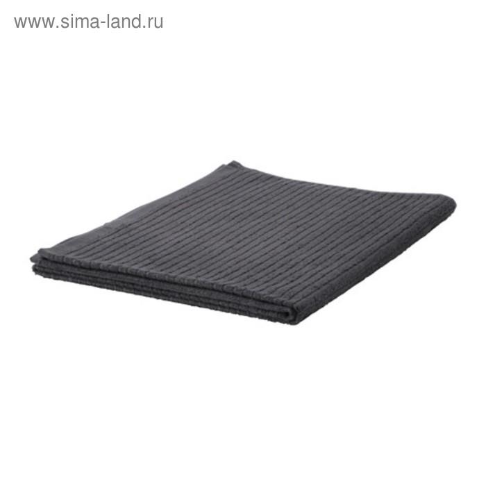 Полотенце ВОГШЁН, размер 100 × 150 см, тёмно-серый