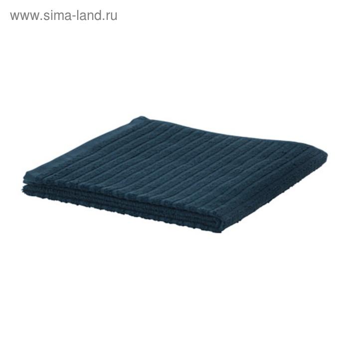 Полотенце махровое ВОГШЁН, размер 50х100 см,цвет тёмно-синий