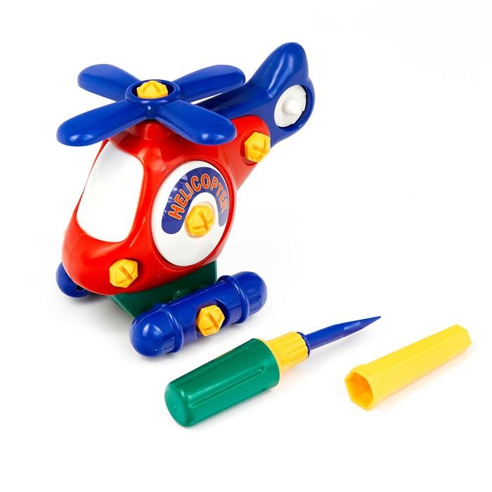 Конструктор для малышей «Вертолёт», 27 деталей