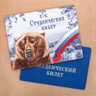 """Обложка на студенческий """"Медведь"""""""