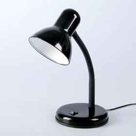 "Настольная лампа ""Design"" 1x60W E27 черная 14x14x33см"