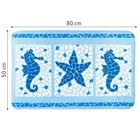 Коврик Ultra Soft Marine motifs, 50 х 80 см