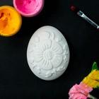 """Фигура под роспись """"Яйцо с цветами"""" 4х5см"""