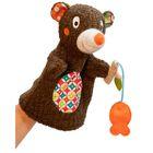 Игрушка на руку Ebulobo «Мишка на рыбалке»