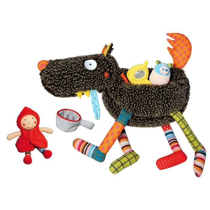 Развивающая игрушка Ebulobo «Волк-обжора»