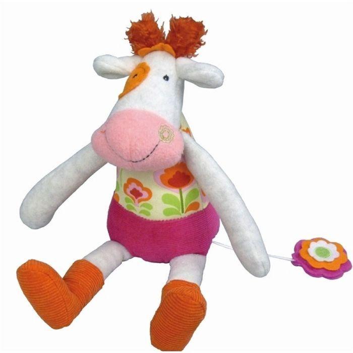 Музыкальная игрушка Ebulobo «Коровка Молли»