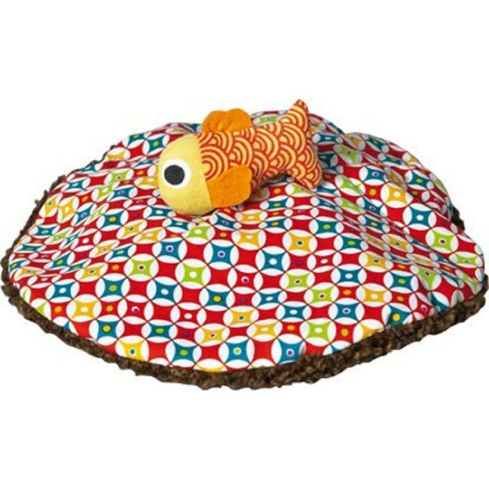 Игрушка мягкая Ebulobo «Мишка и Рыбка»