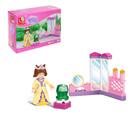 Конструктор «Розовая мечта: принцесса», 29 деталей - фото 105509543