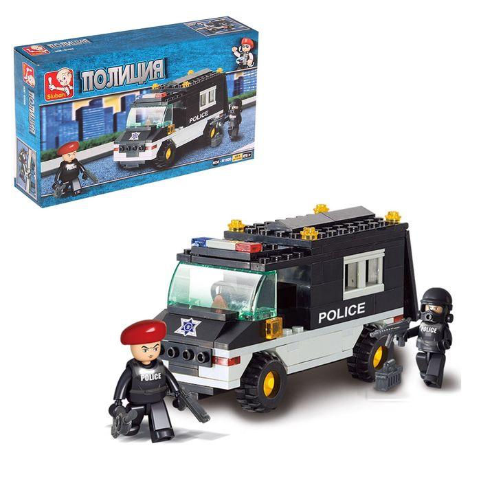 Конструктор «Военная полиция: Фургон», 127 деталей