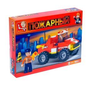 Конструктор «Пожарный грузовик», 118 деталей