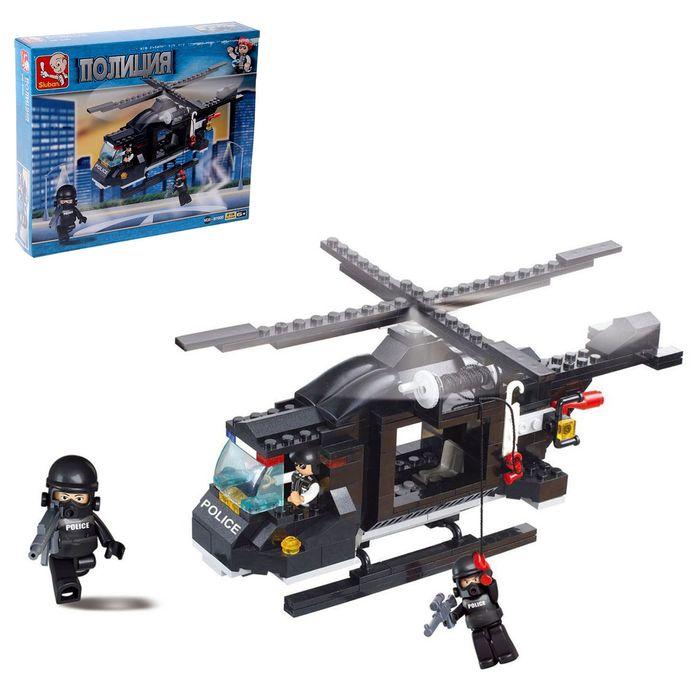 Конструктор «Военная полиция: Вертолёт», 219 деталей