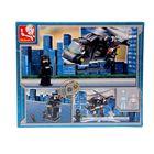 Конструктор «Военная полиция: Вертолёт», 219 деталей - фото 106525438
