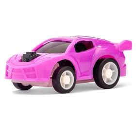 Машина инерционная «Гонщик», цвета МИКС