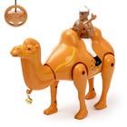 Верблюд радиоуправляемый «Король пустыни», работает от батареек, свет и звук