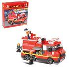 Конструктор «Пожарная машина», 281 деталь - фото 76299449