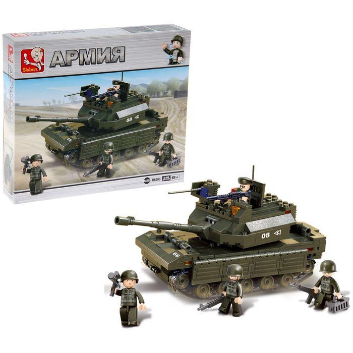 Конструктор «Штурмовой танк», 312 деталей