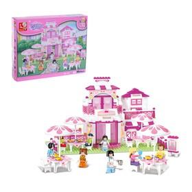 Конструктор «Розовая мечта: домик», 306 деталей