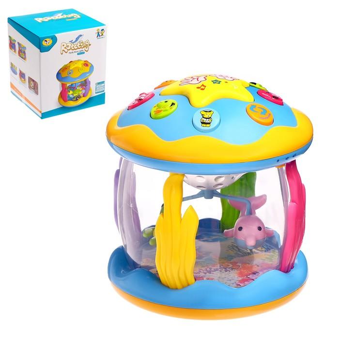 Развивающая игрушка «Звёздочка» с функцией ночника, световые и звуковые эффекты