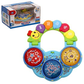 "Learning toy ""Caterpillar"" with the drum"
