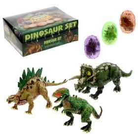 Конструктор в яйце «Динозавр», 6 видов, МИКС