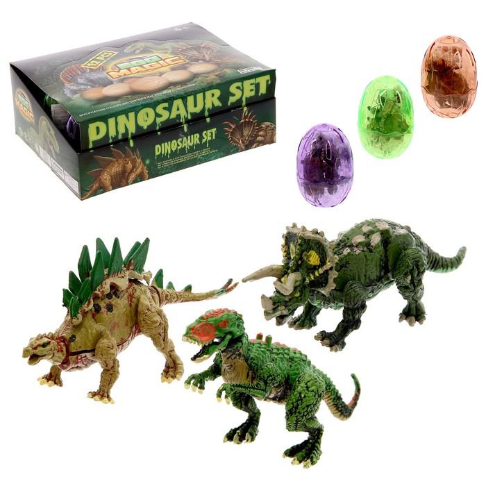 Конструктор в яйце «Динозавр», 6 видов, МИКС - фото 634020