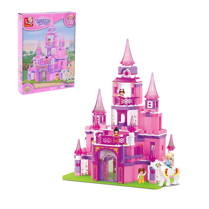 Конструктор «Розовая мечта: замок принцессы», 472 детали