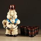 """Набор для вина """"Полицейский"""", 7 предметов в наборе, 1,3 л/0,1 мл"""
