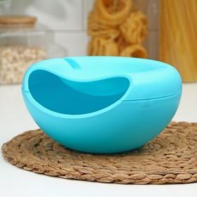 Тарелка для семечек и орехов «Плэтэр», с подставкой для телефона, (цвет микс)