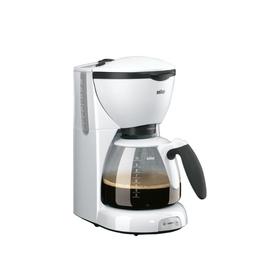 Кофеварка Braun KF 520/1 WH, капельная, 1100 Вт, 1 л, белая