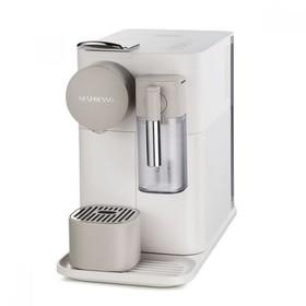 Кофемашина De Longhi EN.500.W Nespresso, капсульная, 1400 Вт, 1 л, белая