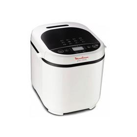 Хлебопечка Moulinex OW 210130, 650 Вт, 12 программ, варка джема, ржаной хлеб, белая