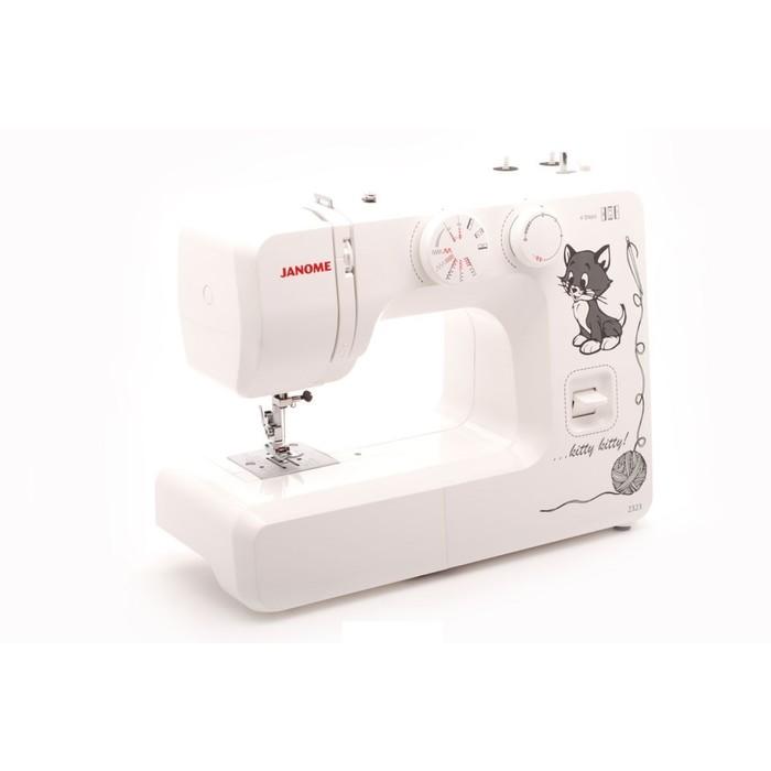 Швейная машина Janome 2323, 85 Вт, 19 операций, потойная строчка