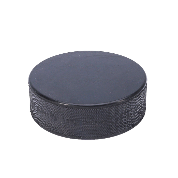 """Шайба хоккейная """"RUBENA"""", каучук, диаметр 75 мм, высота 25 мм, цвет чёрный"""