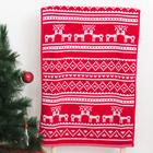 Полотенце Lapland 50x90 см, пестроткань, красный, 390гр/м2, хлопок 100%