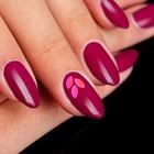 """Камифубуки для декора ногтей """"Листочки"""", цвет розовый"""
