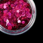 Камифубуки для декора ногтей, лазерные, цвет розовый