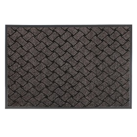 The Mat for doorway, vlagoutoychivye Kraft brown color