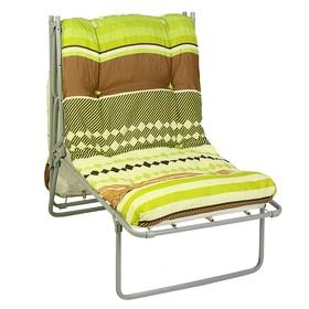 """Раскладушка-кресло """"Лира"""", 195 × 65 × 39,5 см, максимальная нагрузка 120 кг"""