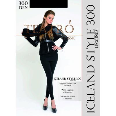 Легинсы женские с начесом Iceland style leggings 300 цвет чёрный (nero), размер 3