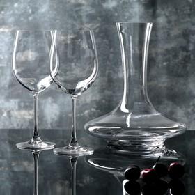 Набор для вина: декантер 1,5 л, 2 бокала для вина 610 мл