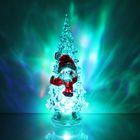 """УЦЕНКА Игрушка световая """"Ёлочка снеговик"""" (батарейки в комплекте) 14 см, 1 LED, RGB,"""