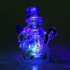 """УЦЕНКА Игрушка световая """"Снеговик и леденец"""" (батарейки в комплекте) 1 LED, RGB"""
