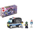 Конструктор «Полицейский фургон», 87 деталей