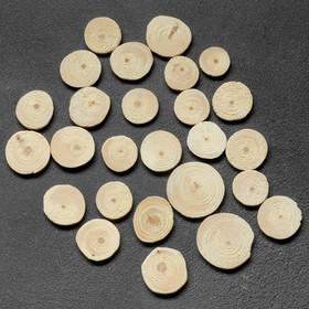Спил 'Сосновый', круглый, d=3 - 4 см, h=3,5 мм Ош