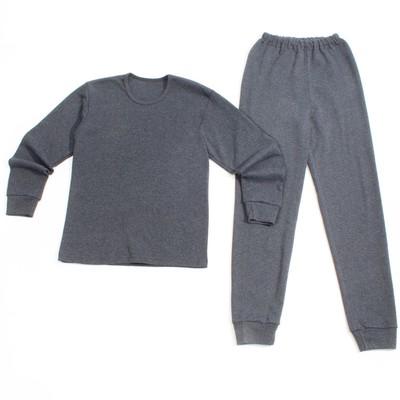 Комплект (джемпер+брюки) для мальчика, рост 146 см, цвет серый с04-555-047