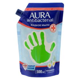 Жидкое мыло Aura с антибактериальным эффектом Ромашка, 500 мл