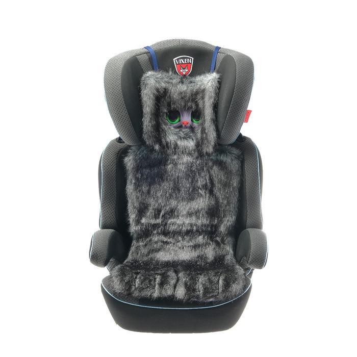 Накидка «АВТОНЯША» для детского автокресла, Котик