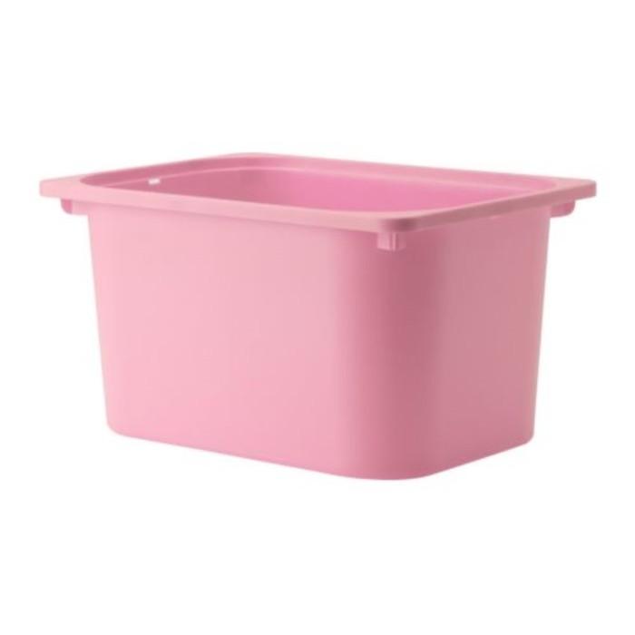 Ящик, розовый ТРУФАСТ