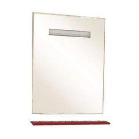 """Зеркало Misty """"Лика 75"""", с красной полочкой, с подсветкой"""